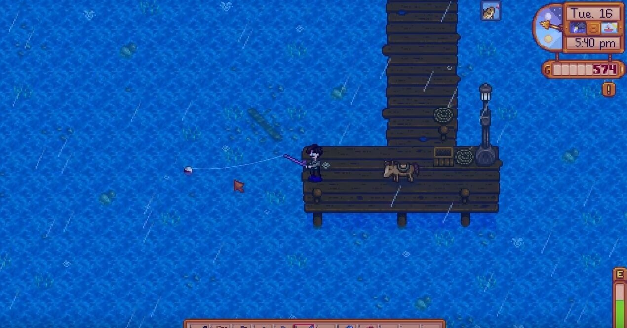 Stardew Valley Crimsonfish Location