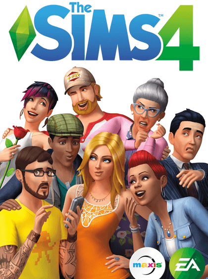 The Sims 4 Cover