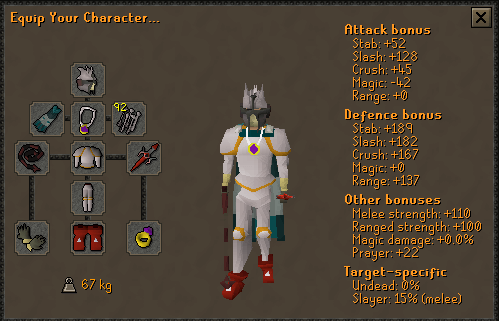 OSRS Hellhounds Prayer Gear