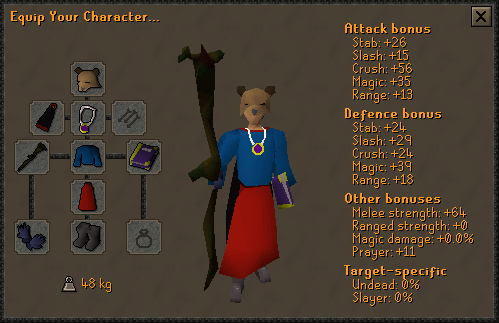 Osrs Pure Guide 1 Def Pure Quests Training Gamedb You'll have to search a bookshelf to open a secret door to get to her. osrs pure guide 1 def pure quests