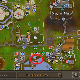 OSRS Sand Crabs Location
