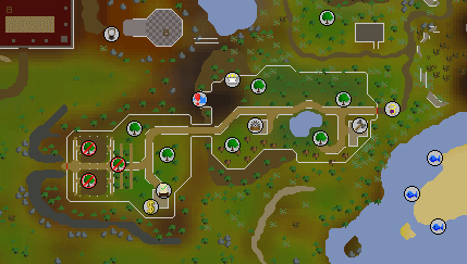 OSRS Woodcutting Guild Map