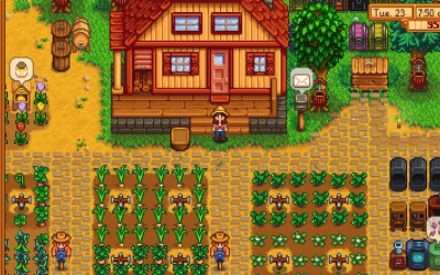 Stardew Valley: Move Chests Easily
