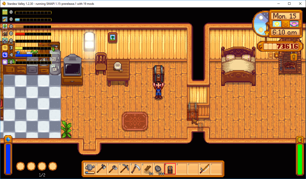 Stardew Valley Move Chests