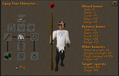 OSRS Warm Clothing