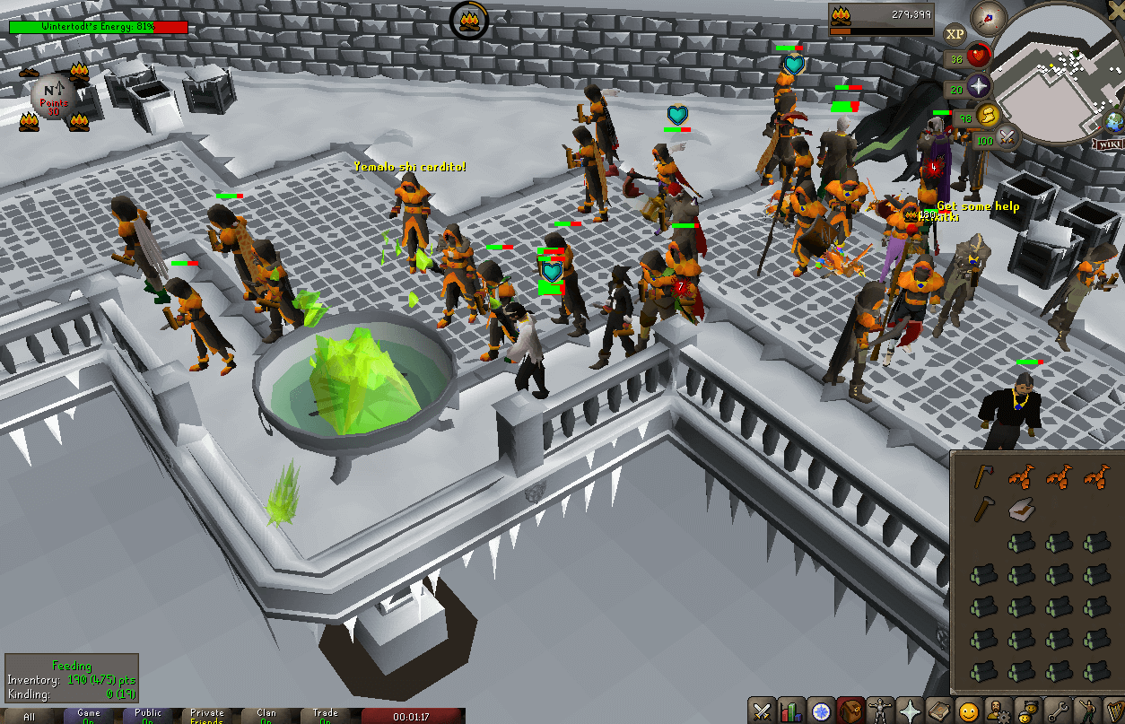 OSRS Wintertodt Burner