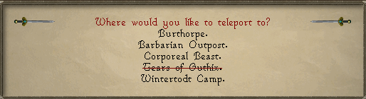 OSRS Wintertodt Teleport